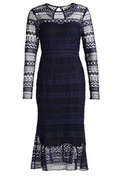 Little White Lies Lorelle Summer Dress Navy Dark Blue