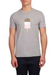 Hymn Southend Ice Lolly Graphic T Shirt Grey