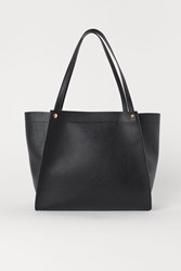 Handm H M Shopper Black