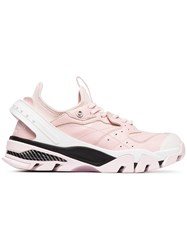 Calvin Klein 205W39nyc Leather Carla Sneakers Pink And Purple