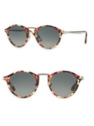 Persol Calligrapher 51Mm Phantos Sunglasses Hava Pink Brown Hava