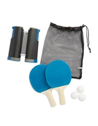 Sharper Image Retractable Table Tennis Set No Color
