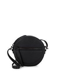 Kooba Meriden Canteen Leather Crossbody Bag Black