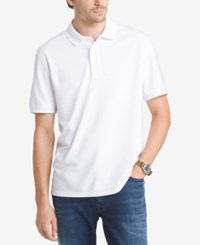 G.H. Bass And Co. Men's Pique Performance Cotton Polo Bright White