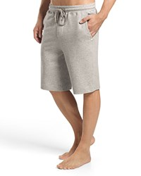 Hanro Raul Knit Lounge Shorts Light Gray