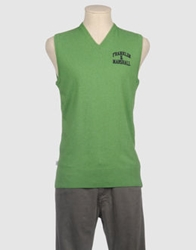 Franklin And Marshall Sweater Vests Green
