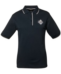 Antigua Men's Tampa Bay Rays Elite Polo Shirt Navy White