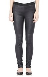 Derek Lam 10 Crosby Stretch Leather Leggings Colorless Size 4 Us