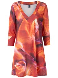 Lygia And Nanny Printed Tunic Women Polyester 46 Red