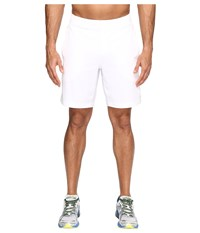 New Balance Tournament 9 Shorts White Men's Shorts