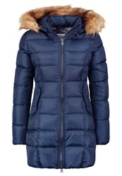 Bomboogie Down Coat Navy Blue Dark Blue
