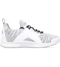Kenzo Ozzy Leather And Mesh Running Trainers White