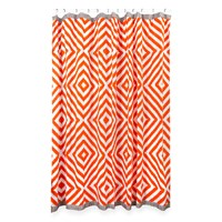 Jonathan Adler Arcade Shower Curtain Orange