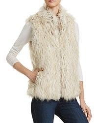 Bb Dakota Brewer Faux Fur Vest Dirty White