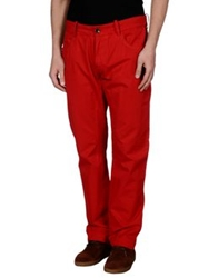 Historic Research Casual Pants Red