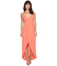 Astr The Label Penelope Dress Hot Coral Women's Dress Red