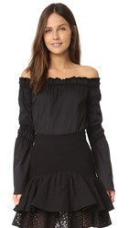 Zac Posen Dakota Blouse Black