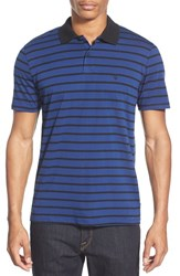 Men's Volcom 'Wowzer Stripe' Slim Fit Jersey Polo