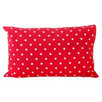 Cath Kidston Spot Pillowcase Red