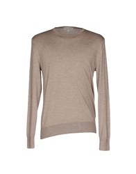 Gieves And Hawkes Sweaters Khaki