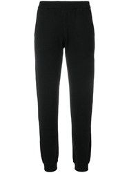 P.A.R.O.S.H. Elasticated Waist Track Pants Black