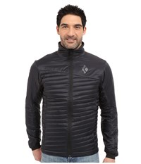 Black Diamond Hot Forge Hybrid Jacket Black Men's Coat