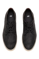 Handm H M Derby Shoes Black