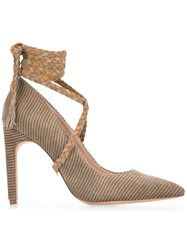 Ritch Erani Nyfc Cleopatra Pumps Nude And Neutrals