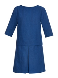 A.P.C. Moon Dropped Waist Denim Dress