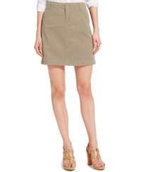 Tommy Hilfiger Solid Chino Skirt