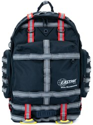 White Mountaineering Contrast Strap Backpack Blue