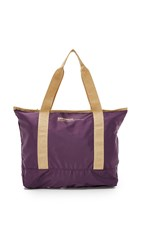 Bensimon Zipped Tote Plum