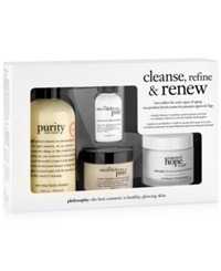 Philosophy Cleanse Refine And Renew Kit