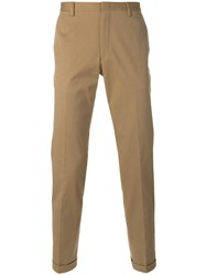 Paul Smith Classic Fit Chino Trousers Nude Neutrals