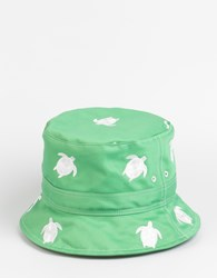 Thom Browne Bucket Hat Green