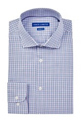 Vince Camuto Modern Fit Check Dress Shirt Red