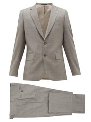 Paul Smith Soho Fit Single Breasted Virgin Wool Suit Grey