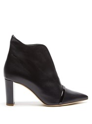 Malone Souliers Clara Cut Out Ankle Boot Black