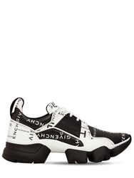 Givenchy Logo Leather Jaw Sneakers Black