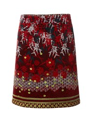 White Stuff Winter Skirt Red
