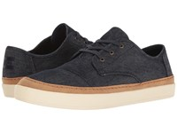 Toms Paseo Sneaker Navy Denim Rand Men's Lace Up Casual Shoes