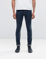 Cheap Monday Jean Tight Spray On Blue Wash Navy