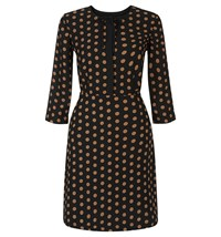 Hobbs Ariela Dress Black