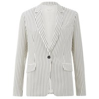 Rag And Bone Rag And Bone Women's Belmar Blazer Black White Stripe