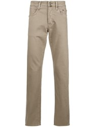 Siviglia Slim Fit Trousers Nude And Neutrals