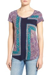 Lucky Brand Women's Mixed Rug Tee