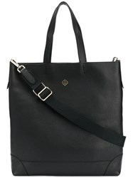 Golden Goose Deluxe Brand Logo Tote Bag Black