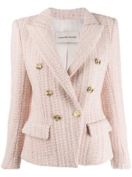 Alexandre Vauthier Classic Fitted Blazer Pink