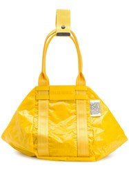 Diesel D Cage Shopper Tote Yellow