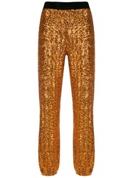 Spacenk Nk Sequinned Joggers Gold